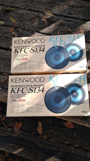 """Kenwood 5"""" Speakers 90W (4 total) for Sale in Beaverton, OR"""