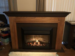 Custom mantle and electric fireplace insert for Sale in Cape Coral, FL
