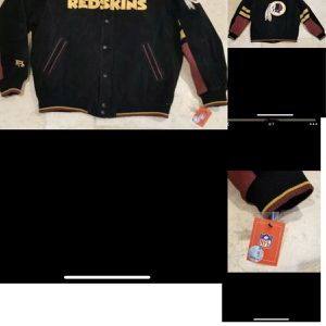 Genuine LeatherWashington Redskins Vintage Jacket for Sale in Forestville, MD