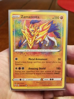 Amazing Rare Zamazenta Vivid Voltage Pokemon for Sale in Duncan, SC