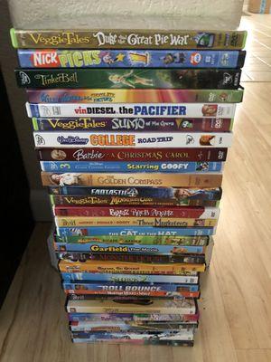 Lot of 30 Kids DVD's Disney, Halloween, Dr Seuss & More! for Sale in Elk Grove, CA