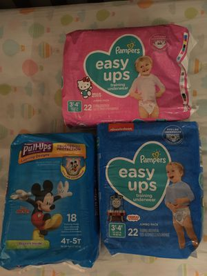 Pampers & pull-ups huggies for Sale in Miami, FL