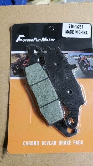 Suzuki intruder front brake pads for Sale in Grand Prairie, TX