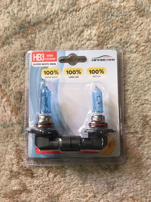 New Halogen Super White Headlight Bulb (HB3 9005) for Sale in San Diego, CA