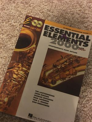 Tenor Saxophone Book 1 for Sale in Damascus, OR
