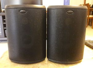 Polk Audio Atrium 55 All-Weather Speakers $40 Firm for Sale in Hollywood, FL