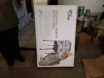 BIRD CAGE WITH STAND LIKE NEW for Sale in Phoenix,  AZ