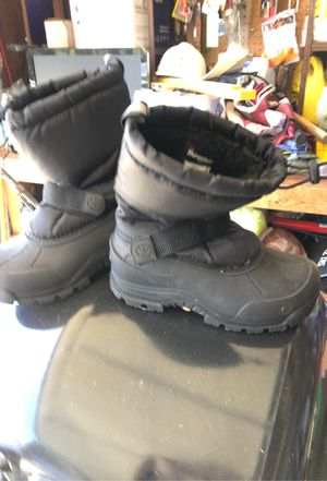 Snow boots size two kids for Sale in Chula Vista, CA
