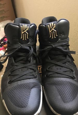 KYRIE 3 Black History Month for Sale in Wichita, KS