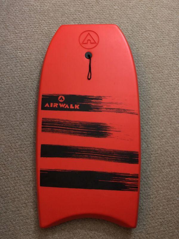 "Airwalk Swell 41"" Red Bodyboard"
