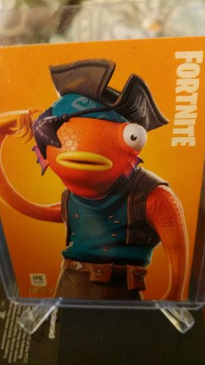 Fortnite fish stick rare outfit #187 epic Panini 2019 for Sale in New Albany, IN