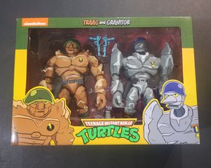 NECA NINJA TURTLES TRAAG AND GRANITOR for Sale in Anaheim, CA
