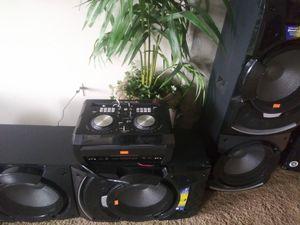 Edison professional dj system for Sale in Denver, CO