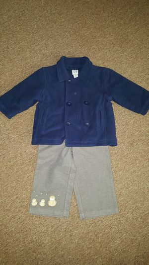 Boys 18-24 mo pants & coat for Sale in Alexandria, VA