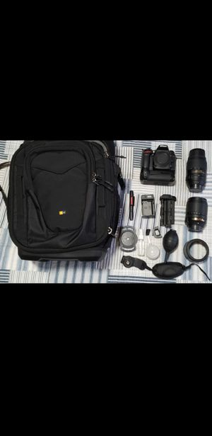 Nikon D7100 DSLR camera with 2 lens and accessories for Sale in Auburn, WA