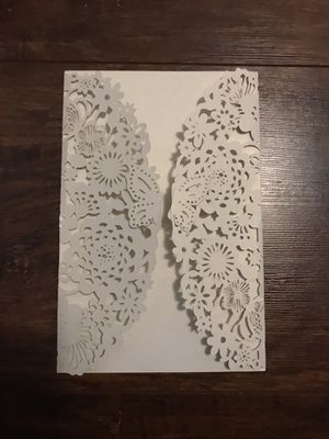 BUTTERFLY 🦋 INVITATIONS-NEW (30 pieces) for Sale in Kennewick, WA