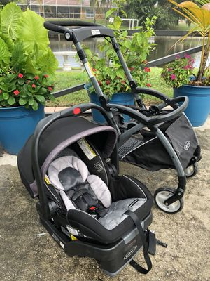 Graco Travel System Stroller & Snugride Car Seat for Sale in West Palm Beach, FL