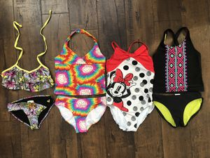 Girls Swim suits bundle - 4 bathing suits for $10 for Sale in Chula Vista, CA