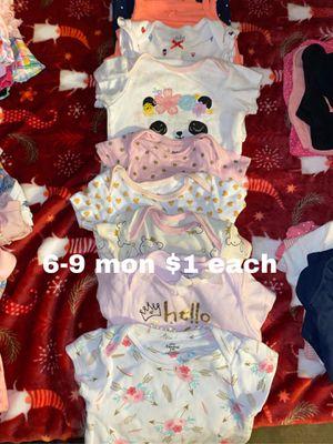 6-9 mon onesies $1 each for Sale in La Mirada, CA