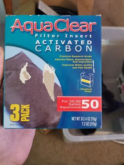 Aquaclear 50 Carbon Inserts for Sale in Tacoma,  WA