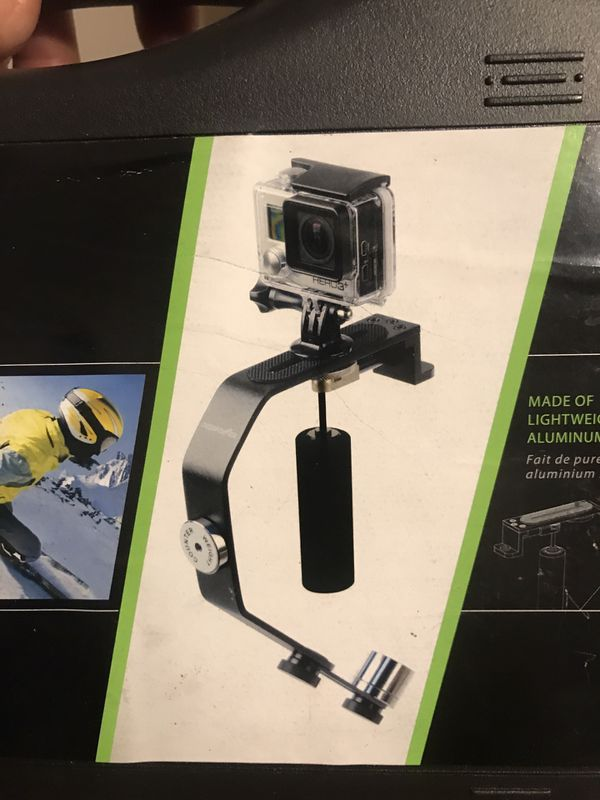 Action camera stabilizer