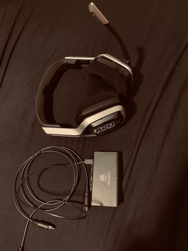 Logitech Astro a20 wireless headphones pc xbox