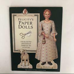 American Girl 👧 Felicity's Paper 📄 Doll for Sale in Allen,  TX