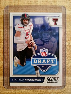 Patrick Mahomes Rookie Card Mint $150 Pick Up $160 Shipped through cash app or pay pal for Sale in Claremont, CA
