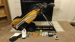 10 pc US Kid's Golf Club Set 21pc bundle Excellent Condition for Sale in Columbus, OH
