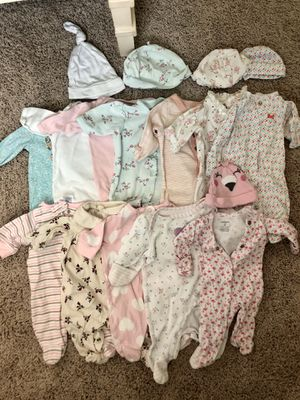 Lot of Preemie Baby Girl Clothes - 50+ Items for Sale in Winter Garden, FL