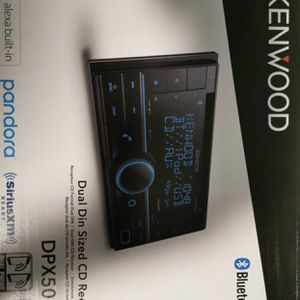 KENWOOD Double-DIN In-Dash CD Receiver with Bluetooth, Amazon Alexa for Sale in Escondido, CA