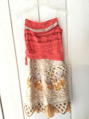 Moana costume size 7/8 for Sale in Third Lake, IL