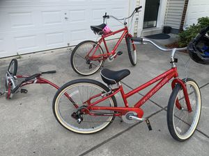 Boss Cruiser bicycle (whole set) for Sale in Lorton, VA
