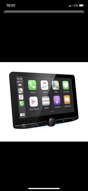 Kenwood 10 inch touchscreen Bluetooth usb Apple CarPlay android auto for Sale in Chula Vista, CA