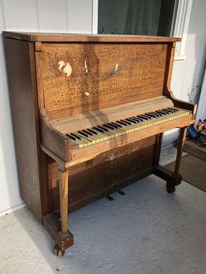 Salvage Repurpose Antique Wurlitzer Tom Thumb Mini Upright Piano Parts for Sale in Sacramento, CA
