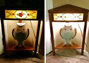 Vintage lighted corner table for Sale in Vance, AL