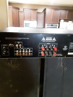 Insignia am and FM receiver radio and pioneer speakers for Sale in Queen Creek, AZ