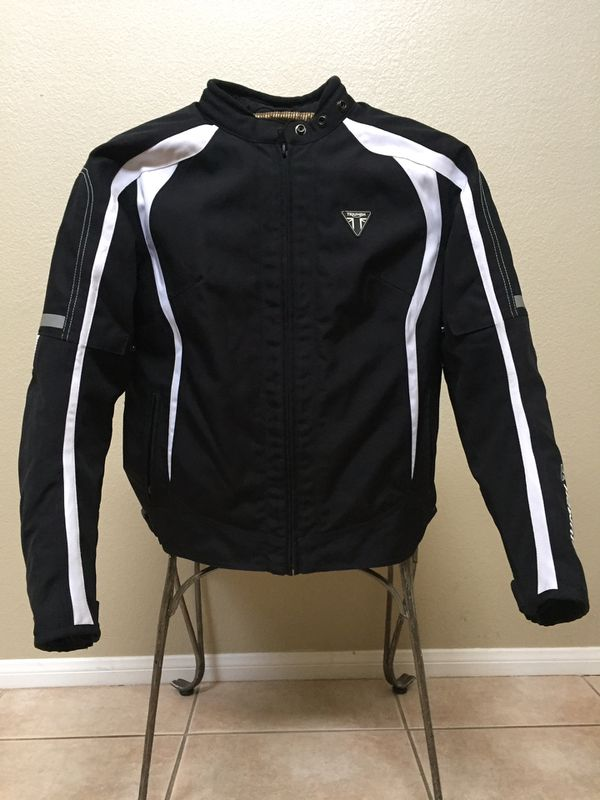 Motorcycle JACKET FOR WOMEN Triumph DRIFT Size Medium Black