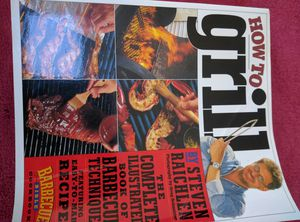 How to Grill - the complete illustrated book of BBQ techniques for Sale in Weston, MA