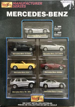 Model car set Mercedes from around 1999 for Sale in West Linn, OR