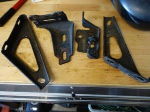 82-92 Camaro Frame Brackets for Sale in Citrus Heights, CA