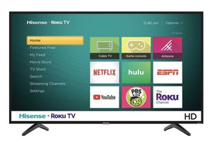 """Hisense TV - 32"""" Class - LED - H4 Series - 720p for Sale in San Diego, CA"""
