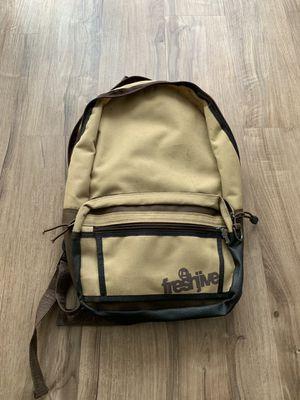 Tan/Brown Freshjive Backpack for Sale in Los Angeles, CA