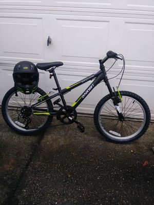 """🍁Brand New Dynacraft ShockZone ·7 Speed·20""""·Mountain Bike w/Helmet by Bell Included·Never Ridden or Worn·Tags on for Sale in Auburn, WA"""