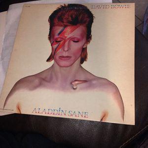 DAVID BOWIE ALADDIN SANE -GORGEOUS NM NEAR MINT VINYL LP 1980 PRESS for Sale in Tustin, CA