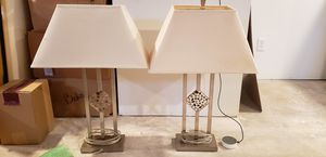 Table lamps for Sale in Munster, IN