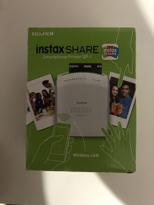 Fujifilm Instax Share SmartPhone Printer SP-1 for Sale in San Diego, CA