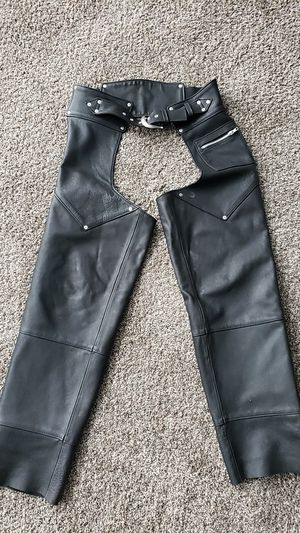Authentically Harley Davidson leather chaps for Sale in Ontario, CA