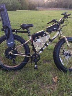 1200 Watt Fat Tire Ebike-Perfect For Hunting for Sale in Ridgefield,  WA