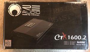 RE Audio Amplifier: CTX 1600.2 for Sale in Virginia Beach, VA